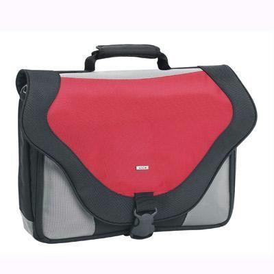 "17\"" Laptop Messenger Bag Red"