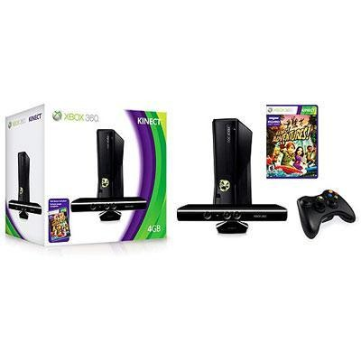 Xbox 360 4gb Kinect Bundle